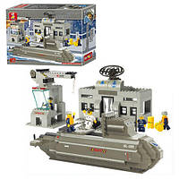 Детский конструктор SLUBAN 619929/M 38 B 0123 Подводная лодка, 381 дет