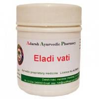 При бронхите, кашле, простуде и респираторных заболеваний Елади Вати, Адарш / Eladi Vati, Adarsh / 20 g