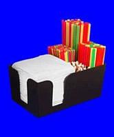 БАРНЫЙ ОРГАНИЗАТОР 6-5 отсеков  для удобного расположения  трубочек, салфеток и т. п.