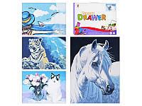 Детская раскраска 3040-10-13-16-2