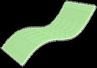 Полуторный тонкий матрас Top Green / Топ Грин 140х200 ЕММ h5 Take&Go bamboo 5D футон
