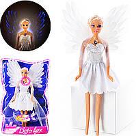 "Кукла DEFA 8219 ""Ангел"", светятся крылья Т"