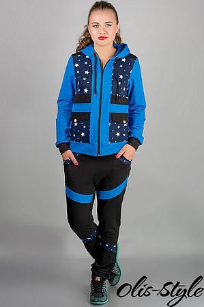 Спортивный костюм Анжелика (бирюза звезды)