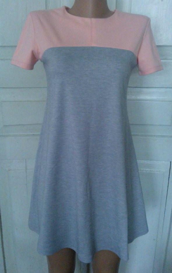 Подростковое платье Зара с коротким рукавом