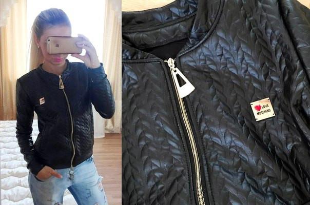 b19094da15d Стеганая кожаная куртка 3 цвета - Интернет-магазин