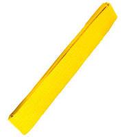 Пояс для кимоно желтый MB-280Y