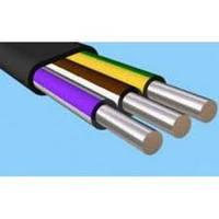 Алюминиевый кабель АВВГ 3х4