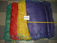 Сетка овощная 45 х 75 (до 30 кг) зеленая  100 шт, фото 1