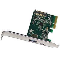 Контроллер PCI-E - USB 3.0. 2-порта. BOX
