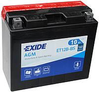 Аккумулятор Exide 12V 10AH/160A (ET12B-BS)