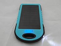 Powerbank - Solar Charger ES500 - 5000mAh, солнечная батарея, фонарь