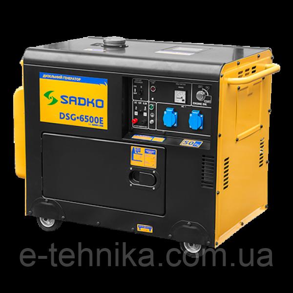 Генератор дизельный Sadko DSG-6500E