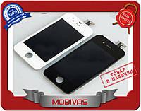 Модуль дисплей+сенсор Iphone 4 черный  копия