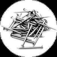 Гвозди строительные 1.6х25 неоцинкованные, фото 1