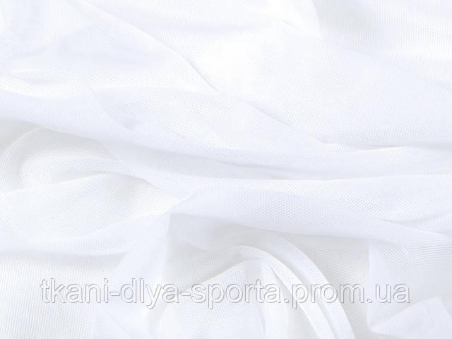 Стрейч-сетка CHRISANNE (Англия) белая (white)