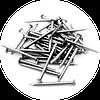 Гвозди строительные 2.5х50 неоцинкованные