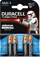 Батарейка DURACELL Turbo MAX AAA/LR03 NEW