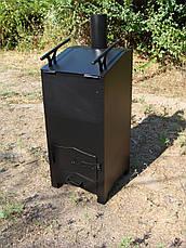 Печь для переработки мусора /печка для сжигания архивных документов, фото 3