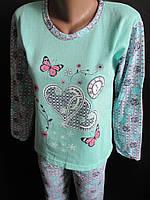 Теплые женские пижамы на зиму.