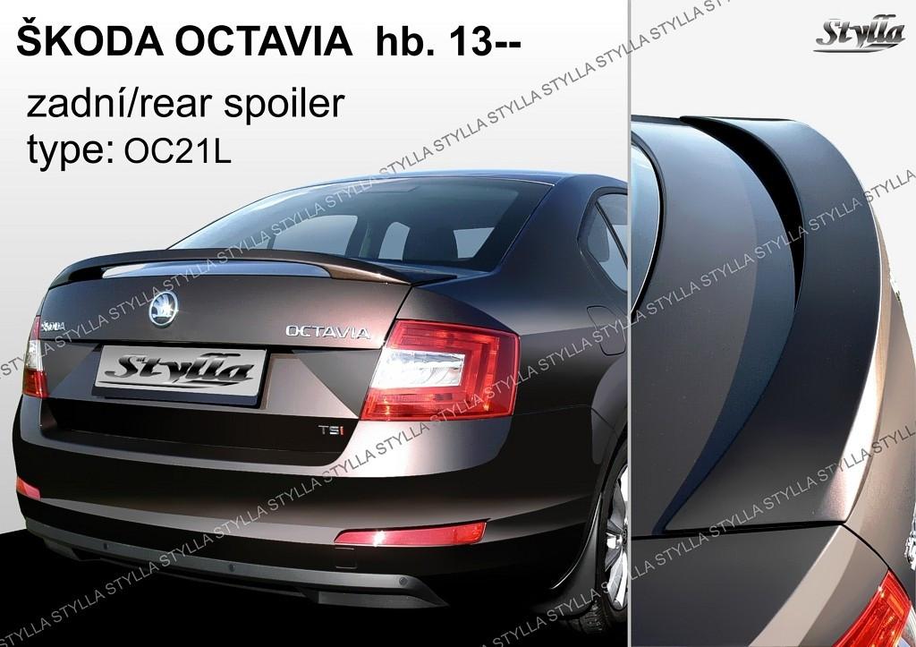 спойлер крышки багажника skoda octavia a7 спб