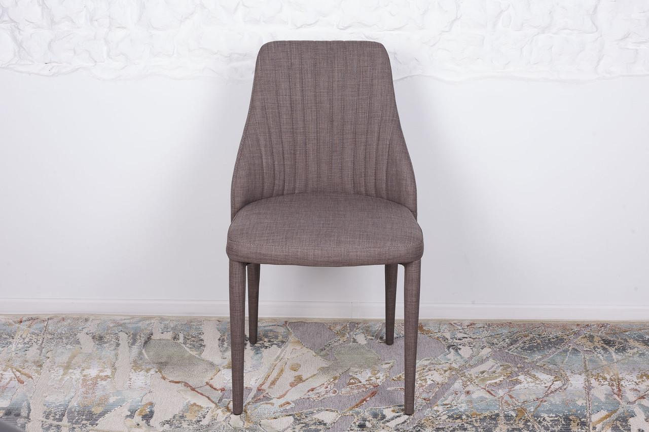 Стул кухонный ткань ALICANTE (Аликанте) Nicolas, текстиль - серый
