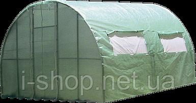 Каркасная теплица Click Green House под пленку, полиматериал, 3*4 м