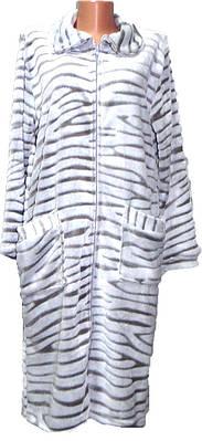 Махровый женский халат р. 44-56
