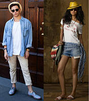 Разновидности стиля casual. All-out-casual