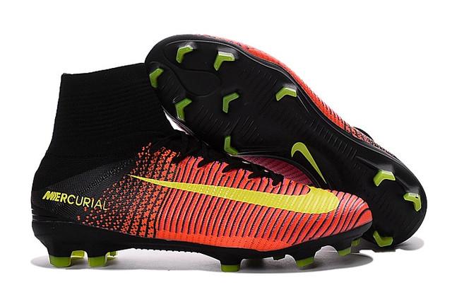 Футбольные бутсы Nike Mercurial Superfly V FG Total Crimson/Volt/Pink Blast