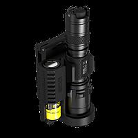 Чехол-держатель быстросъемный для фонарей Nitecore NTH30B (360°)