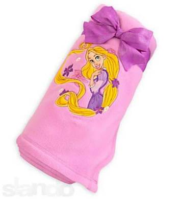 Плюшевый плед Рапунцель/ Rapunzel fleece throw Disney