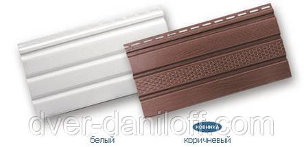 Софит АЛЬТА-ПРОФИЛЬ без перфорации, белый 3,00х0,232м (0,696 м2), фото 2