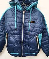 Осенняя куртка для мальчика с капюшоном 3275