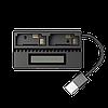 Зарядное устройство Nitecore UGP4 для GoPro Hero 4/3 (AHDBT- 401/301/201), фото 3