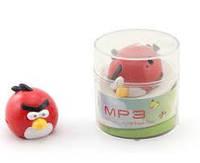 Плеер MP3 Angry Birds розовая птичка. зарядка - mini USB. слот под microSD