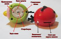 Музыкальный плеер в виде игрушки Angry Birds красная птичка. зарядка - mini USB. слот под microSD