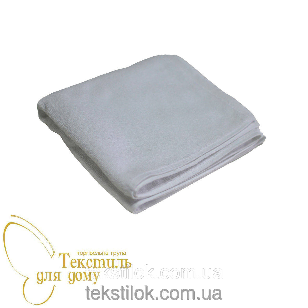 Полотенце белое махровое70*140