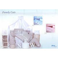 Постельный комплект Tuttolina Family Cats