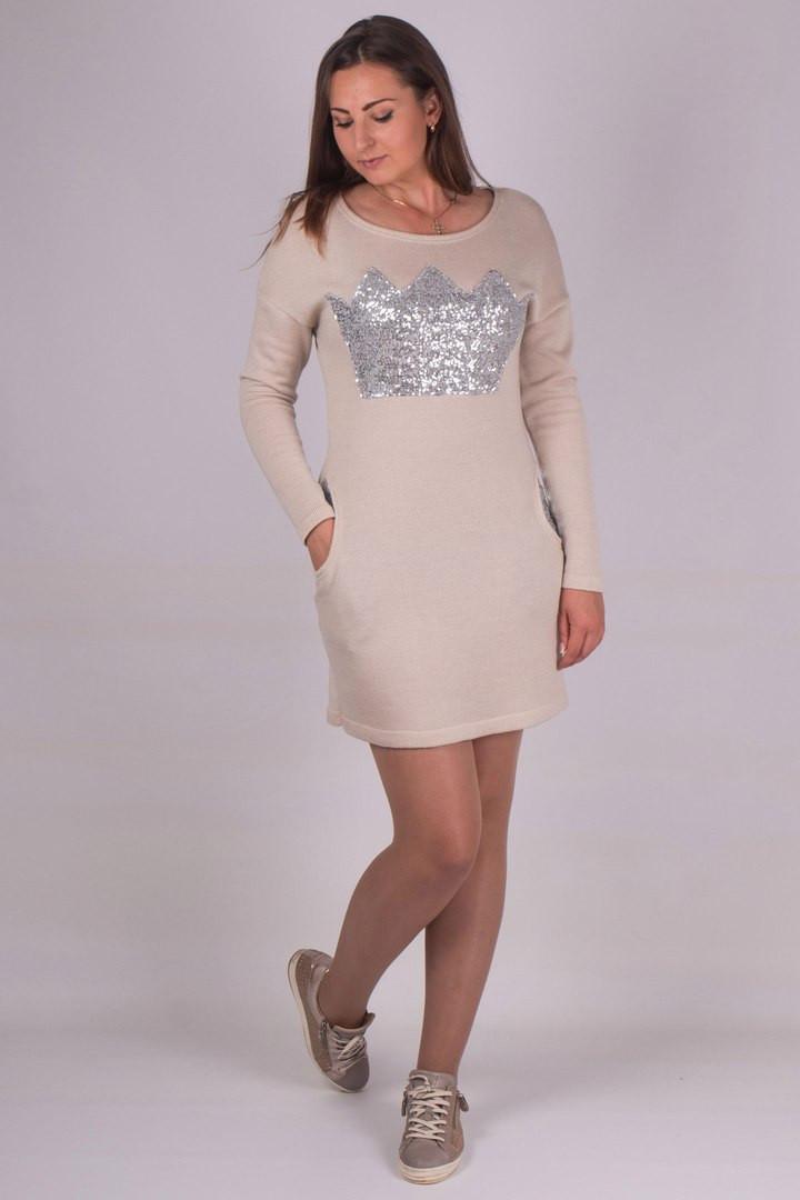 Платье Korona 44-50 беж
