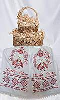 Рушник с вышивкой под каравай «Пташки кохання»