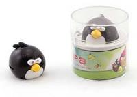 Мp3-плеер Angry Birds черная птичка. зарядка - mini USB. слот под microSD