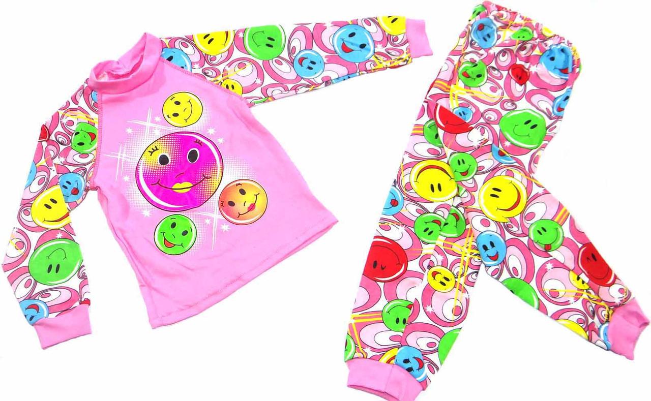 Пижама детская интерлок р. 30-38