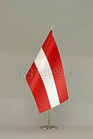 Флажок Австрии 13,5*25 см., плотный атлас, фото 1