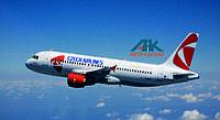 Чешская авиакомпания (CSA) снова появилась в Украине.