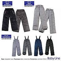 Зимние штаны для девочки Libellule (Baby Line) Z52-16 р.128 серый