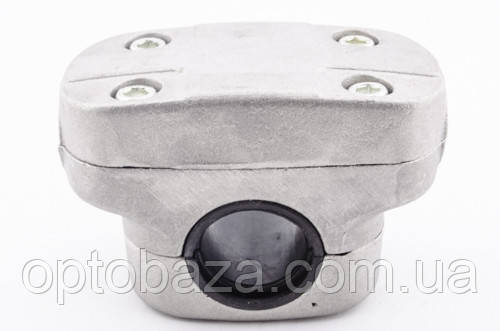 Крепление ручек к штанге в сборе (широкое) 26 мм для мотокос серии 40 -51 см, куб, фото 2