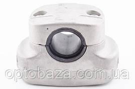 Крепление ручек к штанге в сборе (широкое) 26 мм для мотокос серии 40 -51 см, куб, фото 3