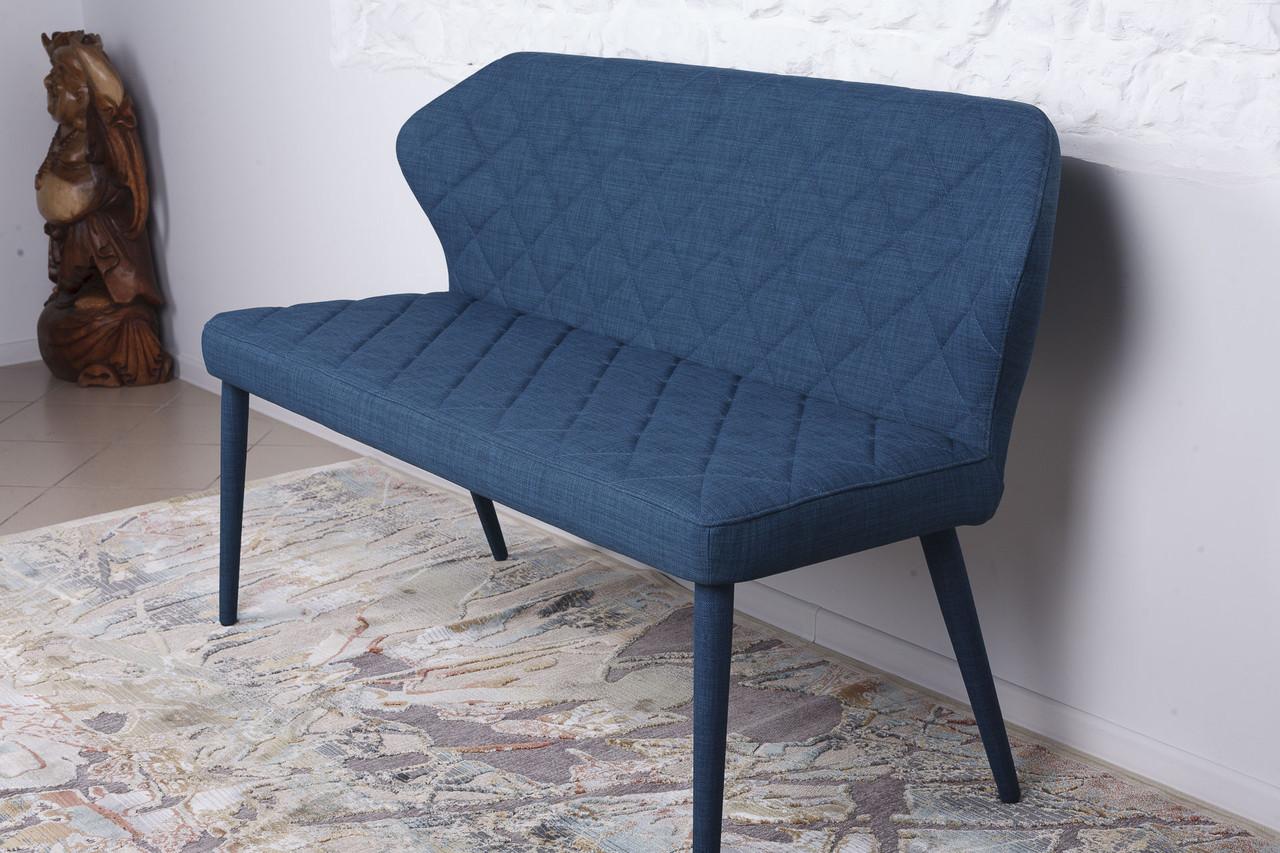 Кресло - банкетка VALENCIA Nicolas  (Валенсия), текстиль - синяя