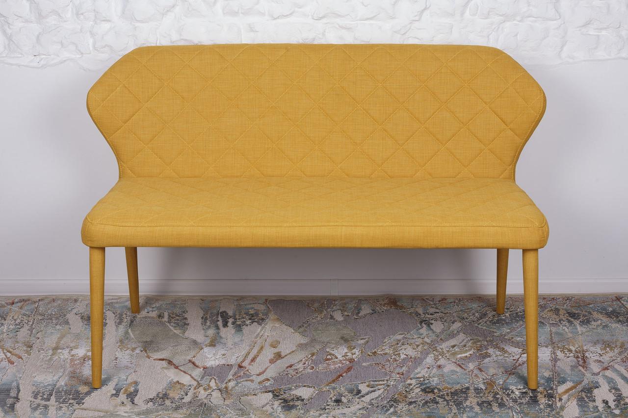 Кресло - банкетка VALENCIA Nicolas  (Валенсия),  текстиль - желтая