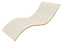 Односпальный тонкий матрас White Kokos / Вайт Кокос 70х190 ЕММ h6 Take&Go bamboo кокос + мемори 5D футон